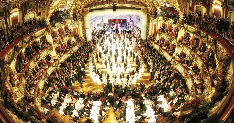 Eröffnung der Opernredoute in Graz (copyright) Juergen Fuchs